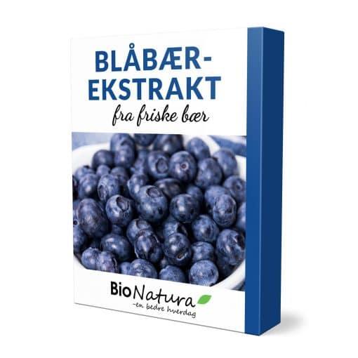 Blåbærekstrakt produkt fra Bionatura